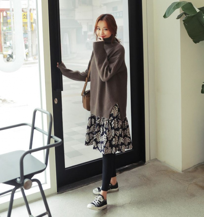 4 tips mặc áo len cổ lọ thật phong cách trong ngày trở lạnh - Ảnh 8.