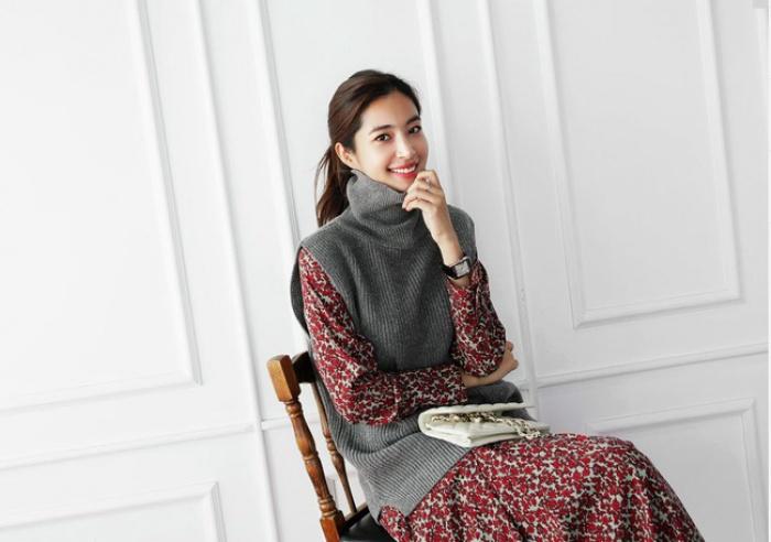 4 tips mặc áo len cổ lọ thật phong cách trong ngày trở lạnh - Ảnh 12.
