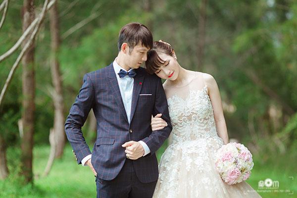Trọn bộ ảnh cưới của cặp đôi 'tiên đồng ngọc nữ' làng cầu lông Việt