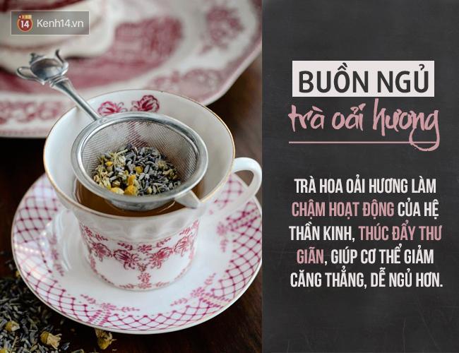 Người thông minh là phải biết chọn trà theo từng loại cảm xúc