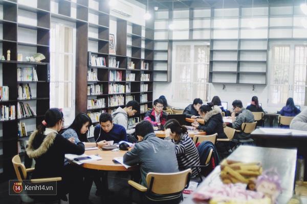 4 thư viện cực đẹp, cực xịn dành riêng cho dân yêu ngoại ngữ ở Hà Nội - Ảnh 9.