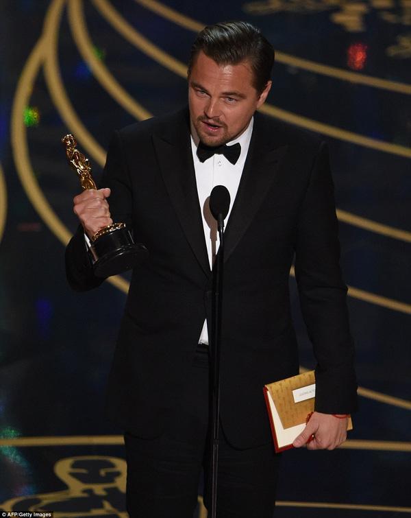 Leonardo DiCaprio cuối cùng đã thắng giải Oscar sau 2 thập kỉ - Ảnh 2.
