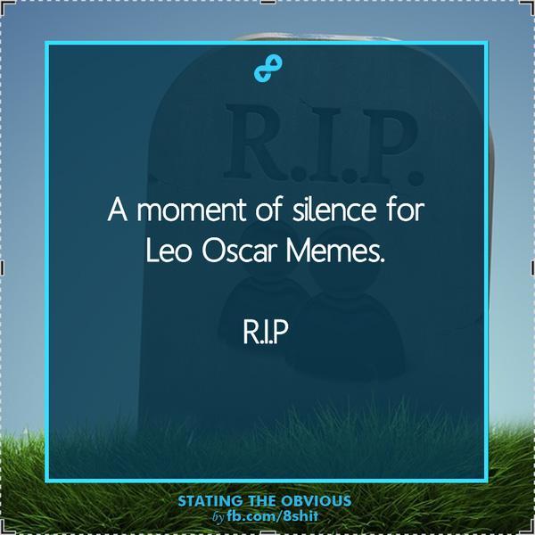 MXH ngập lụt ảnh chế Leo: Tượng vàng Oscar - Lần này là anh cầm thật đấy nhé! - Ảnh 4.