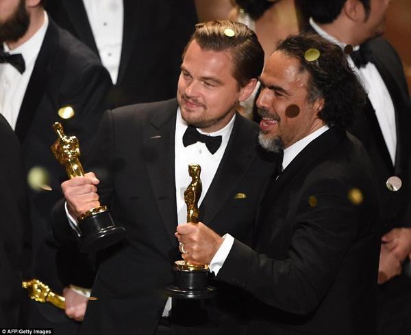 Leonardo DiCaprio cuối cùng đã thắng giải Oscar sau 2 thập kỉ - Ảnh 6.