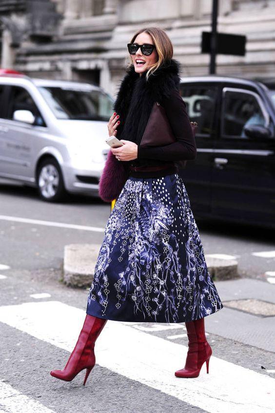 Boots và chân váy, kết hợp sao cho hợp GUU?Boots và váy, kết hợp sao cho đúng điệu?
