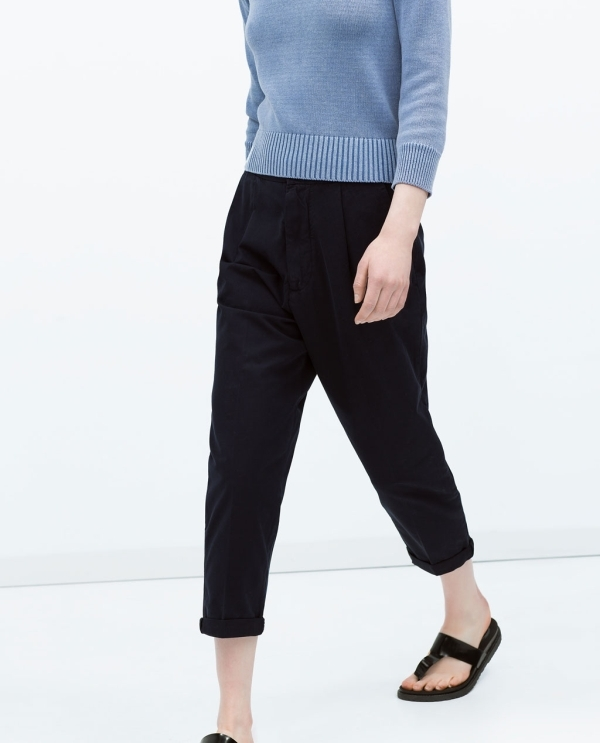Image 4 of CHINOS from Zara