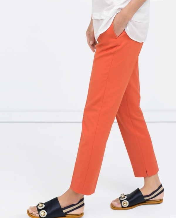 Image 3 of SKINNY TROUSERS from Zara
