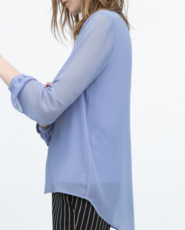 Image 4 of LONG-SLEEVE TOP from Zara