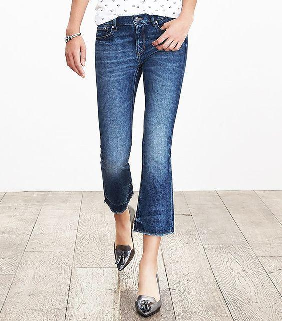 Quần jeans lửng