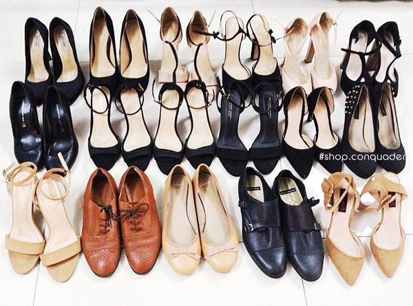 5 hàng giày second hand cực chất cho các nàng mê hàng độc Sài Gòn