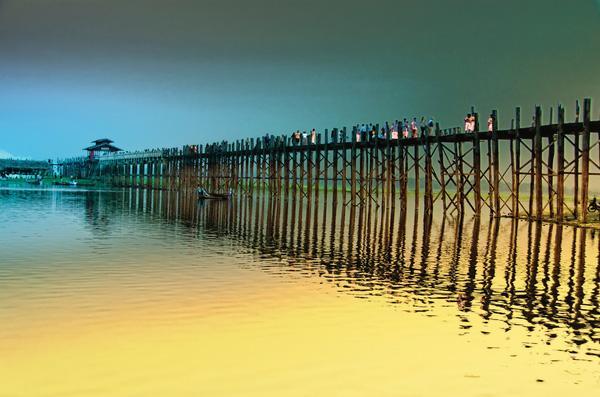 Kết quả hình ảnh cho Cầu Ubein (Mandalay)
