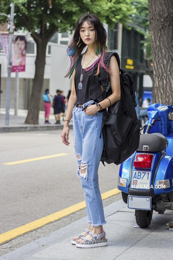 Muốn diện đồ vừa mát vừa đẹp? Bạn nhất định nên xem street style thế giới tuần này - Ảnh 4.