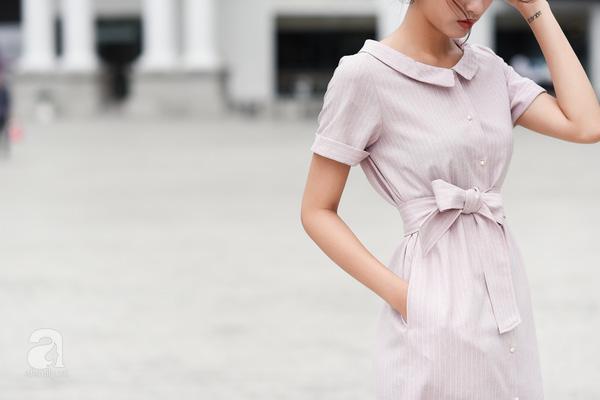 trang phục màu hồng