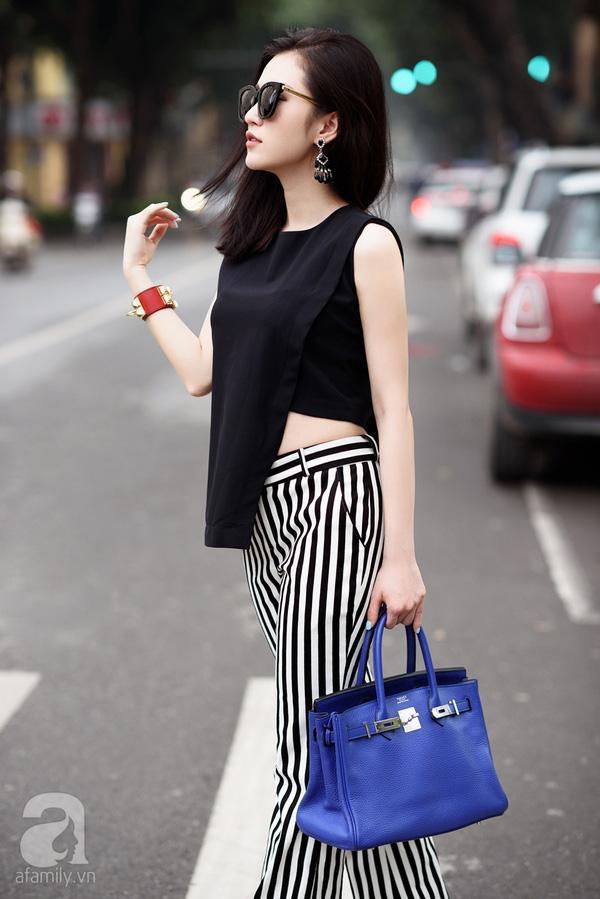 street style cuối tuần