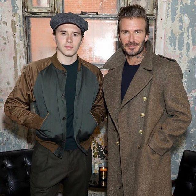 David Beckham ra mắt BST đầu tiên, vợ và con trai hân hoan đến ủng hộ ngay lập tức - Ảnh 3.