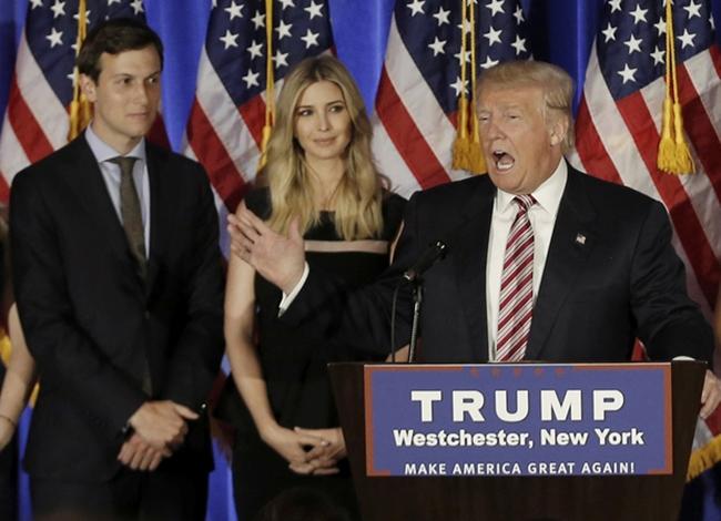 Chân dung chàng rể triệu phú vừa điển trai lại còn tài giỏi của tân Tổng thống Mỹ Donald Trump