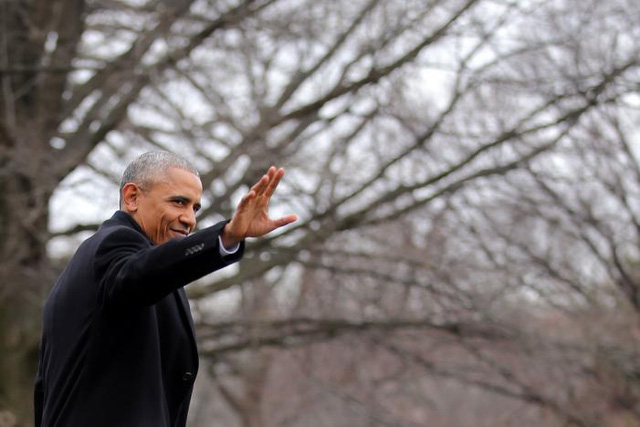 Tổng thống Obama không kìm được nước mắt khi phát biểu trước khi rời Nhà Trắng