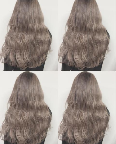 """Màu tóc """"bà ngoại"""" xám bạc xưa rồi, 2017 là phải nhuộm tóc màu nâu sương mù kia!"""