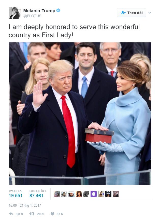 Nhiều người lo lắng khi nhìn thấy những hình ảnh này của Đệ nhất phu nhân Mỹ Melania Trump - Ảnh 9.