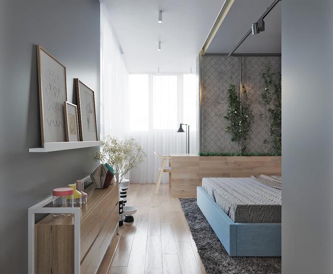 """Hai căn hộ diện tích nhỏ dưới 50m² cho vợ chồng trẻ khiến người xem phải """"ghen tị"""" - Ảnh 8."""