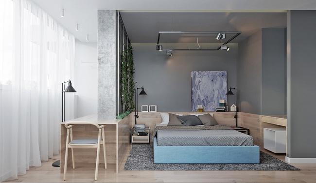 """Hai căn hộ diện tích nhỏ dưới 50m² cho vợ chồng trẻ khiến người xem phải """"ghen tị"""" - Ảnh 7."""