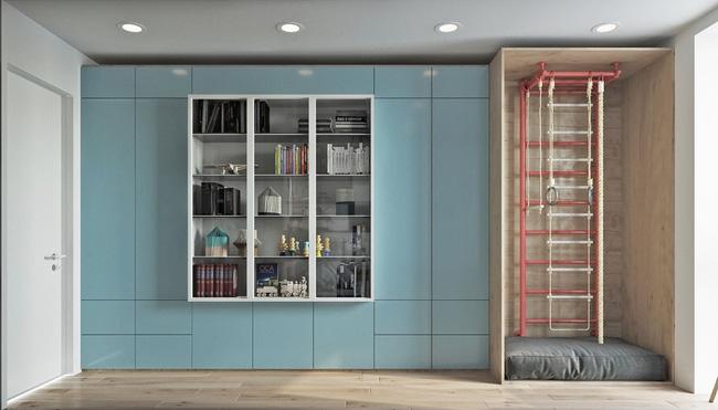 """Hai căn hộ diện tích nhỏ dưới 50m² cho vợ chồng trẻ khiến người xem phải """"ghen tị"""" - Ảnh 11."""