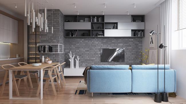 """Hai căn hộ diện tích nhỏ dưới 50m² cho vợ chồng trẻ khiến người xem phải """"ghen tị"""" - Ảnh 4."""