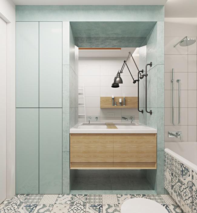"""Hai căn hộ diện tích nhỏ dưới 50m² cho vợ chồng trẻ khiến người xem phải """"ghen tị"""" - Ảnh 13."""