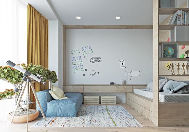 """Hai căn hộ diện tích nhỏ dưới 50m² cho vợ chồng trẻ khiến người xem phải """"ghen tị"""" - Ảnh 10."""