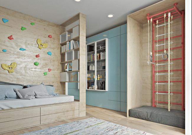 """Hai căn hộ diện tích nhỏ dưới 50m² cho vợ chồng trẻ khiến người xem phải """"ghen tị"""" - Ảnh 12."""