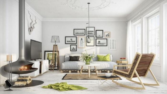 """Scandinavian đích thị là phong cách mà bạn đang tìm kiếm """"mòn mỏi"""" cho không gian phòng khách - Ảnh 1."""