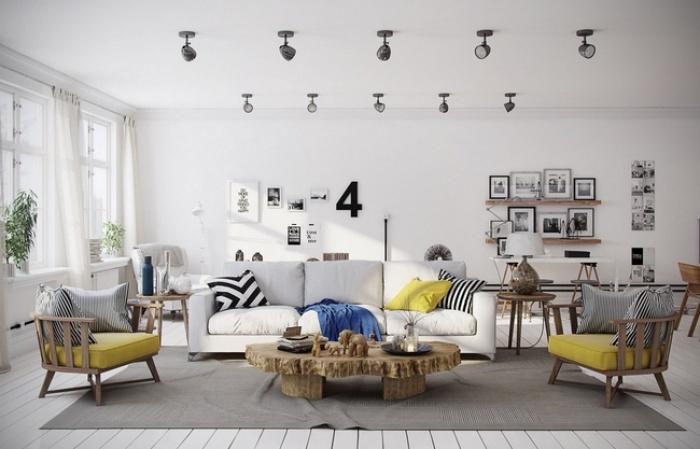 """Scandinavian đích thị là phong cách mà bạn đang tìm kiếm """"mòn mỏi"""" cho không gian phòng khách - Ảnh 5."""