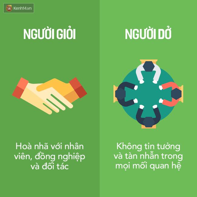 Đây chính là 16 sự khác nhau dễ thấy nhất giữa người giỏi và người dở!