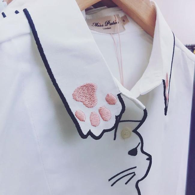 10 gợi ý cổ áo sơ mi độc - đẹp - lạ dành cho các bạn nữ - Ảnh 15.