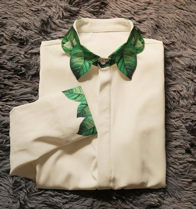 10 gợi ý cổ áo sơ mi độc - đẹp - lạ dành cho các bạn nữ - Ảnh 9.