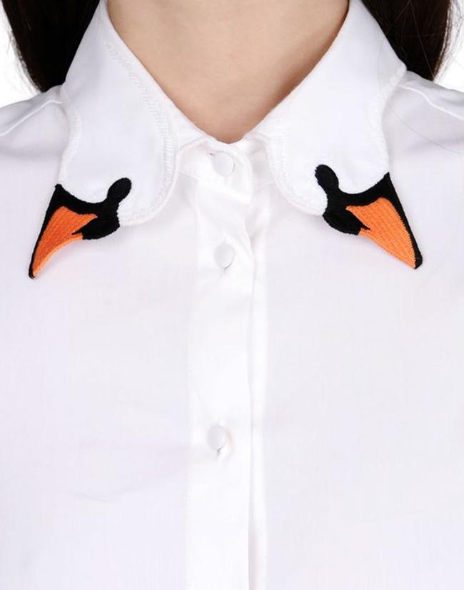 10 gợi ý cổ áo sơ mi độc - đẹp - lạ dành cho các bạn nữ - Ảnh 19.