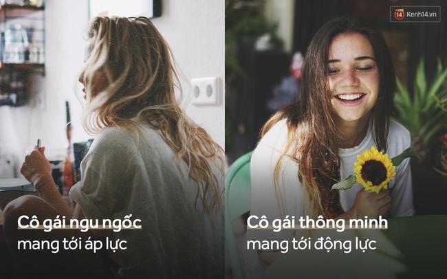 14 khác biệt một cô gái thông minh và một cô nàng ngu ngốc trong tình yêu