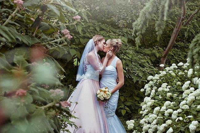Bộ ảnh cưới nên thơ của hai cô nàng xinh đẹp khiến dân tình thầm ghen tị - Ảnh 9.