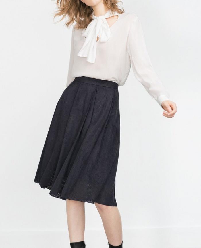 Chân váy midi dáng xòe - muốn mặc đẹp không hề khó! - Ảnh 16.