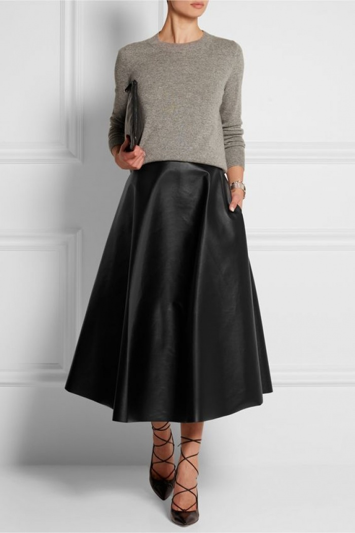 Chân váy midi dáng xòe - muốn mặc đẹp không hề khó! - Ảnh 14.