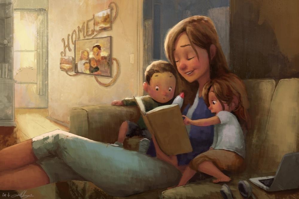 Bộ ảnh tuyệt vời mà bất kì ai nhìn thấy cũng muốn ôm ngay lấy mẹ