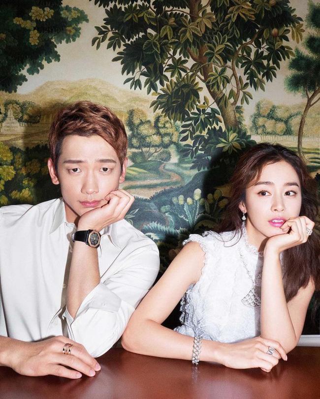 Hình ảnh đầu tiên trong album ảnh cưới của Kim Tae Hee và Bi Rain được tiết lộ - Ảnh 1.