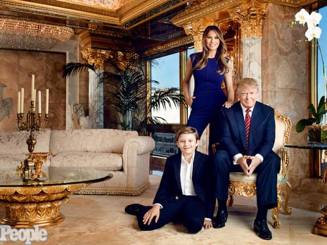 Chiều cao đáng nể và 13 sự thật ít người biết về cậu út nhà Tổng thống Donald Trump