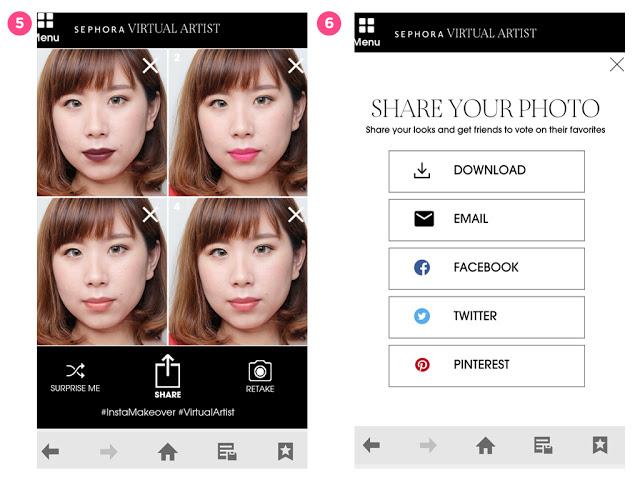 """Các nàng không còn lo mua phải màu son """"lệch tông"""" với app thử màu son cực hay ho này"""