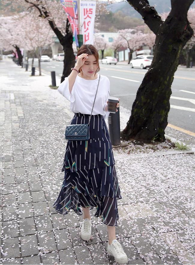 Chân váy đẹp 2017 dịu dàng cho mùa nắng ấm