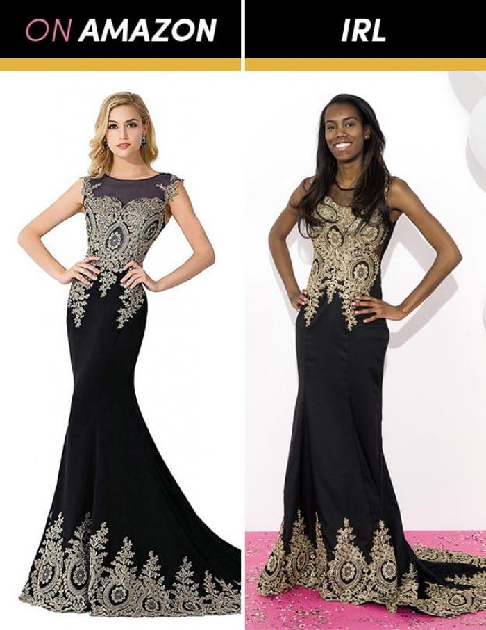 Cô gái đặt mua váy dạ hội chỉ vài trăm nghìn trên Amazon và cái kết bất ngờ
