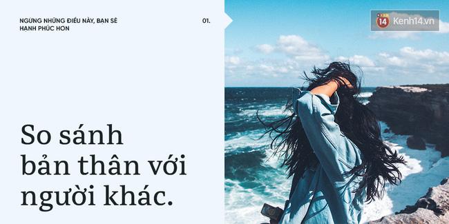 10 thói quen khiến bạn không thể hạnh phúc nếu cứ giữ khư khư