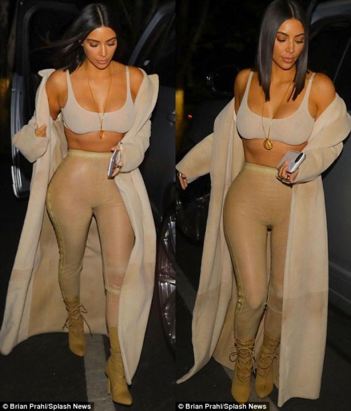 Giảm cân thành công, body gợi cảm của Kim giờ khiến Kylie cũng phải ghen tị! - Ảnh 4.