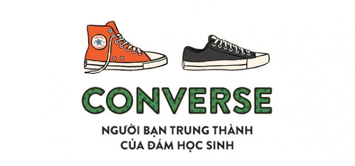Vans hay Converse, từ những đôi giày thời học sinh cho đến thứ phụ kiện thần thánh của bất kỳ fashionista nào