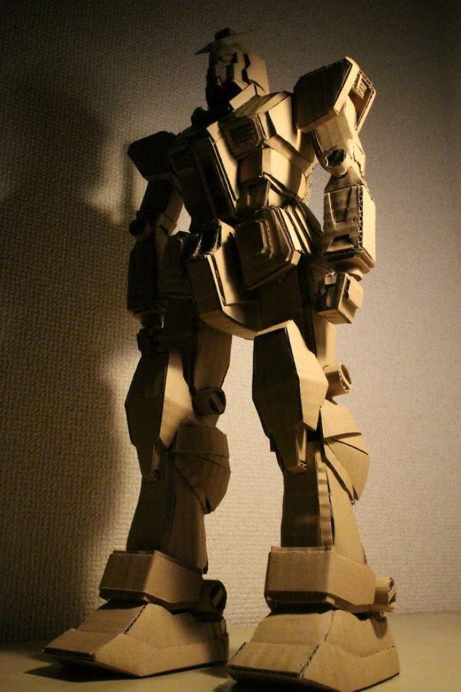 Cô gái Nhật biến bìa các-tông vứt đi thành những mô hình 3D sắc nét - Ảnh 23.